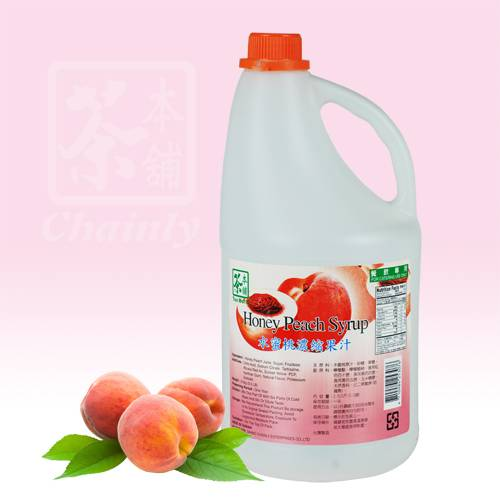 Peach Flavor Concentrated Syrup
