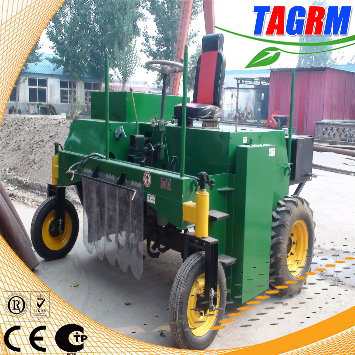 M2000 organic compost machine, composting equipment