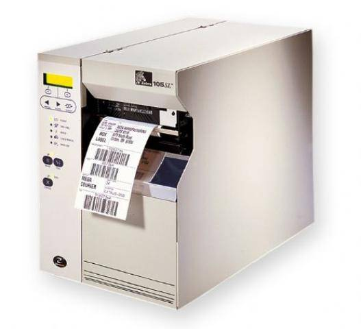 Zebra 105SL Direct thermal and Thermal Transfer Industrial Label Barcode Printer