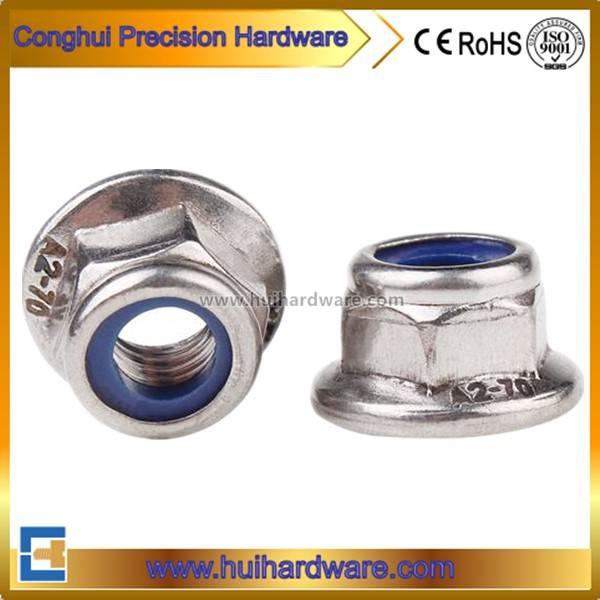 Stainless Steel 304/316 Flange Nylon Nut