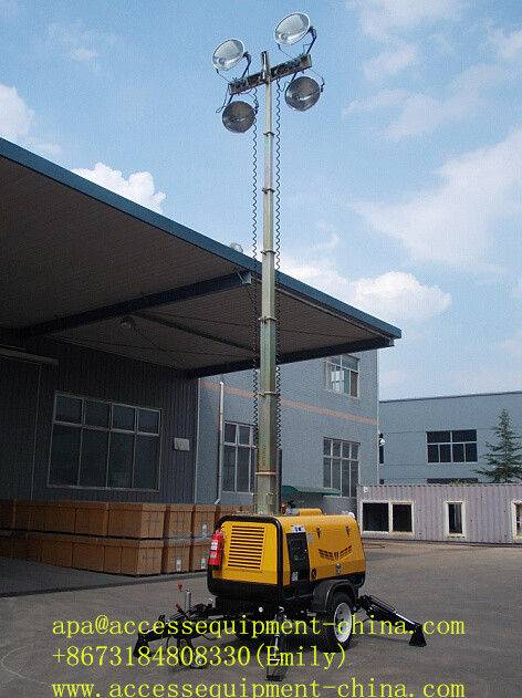Hydraulic-Operation Tower Light Tower 9m 4000W