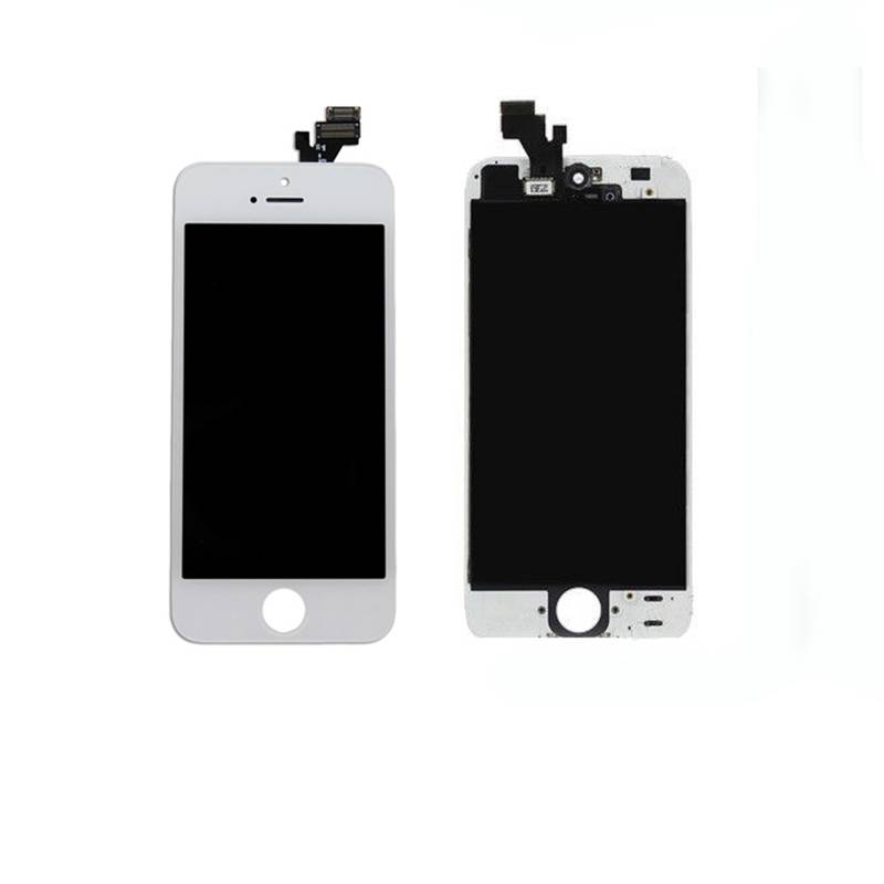 iphone 5G lcd assembly with frame and one year warraty