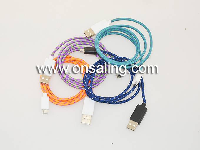 BR-UC012 Nylon braided cable