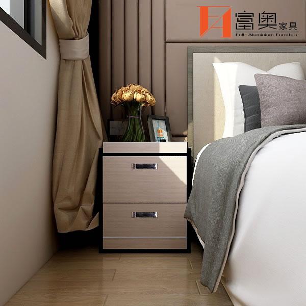 Bedroom Furniture All Aluminum Nightstands Bedside Table