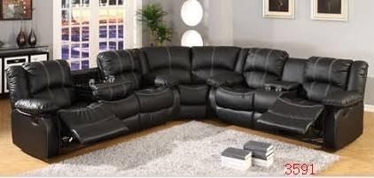 Europe style recliner sofa living room furniture sofa set