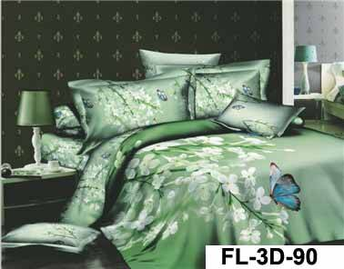 100% cotton sheet printed bedsheet