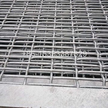 45# Steel 15cm Hot-dip Galvanized Feeding Pigs Crimped Wire Mesh