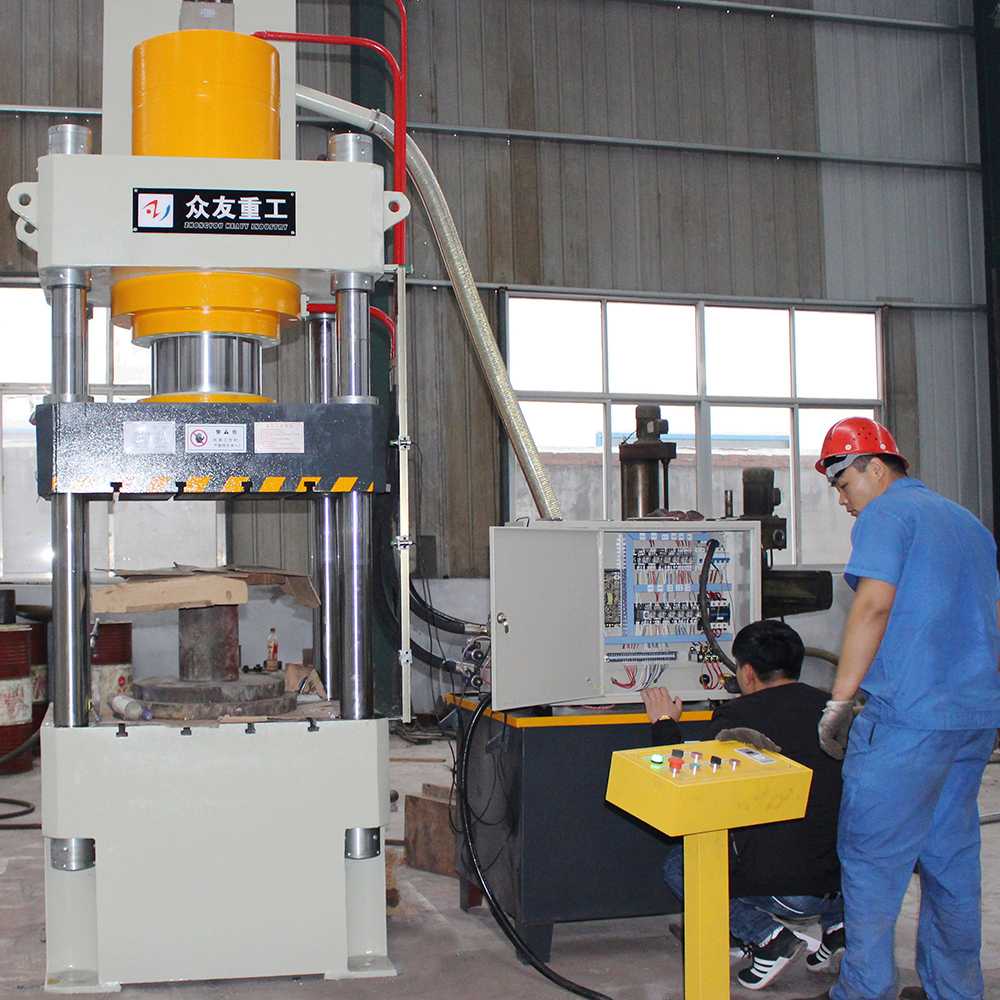 3d Wall Decoration Panel Hydraulic Press Machinery 80 Ton