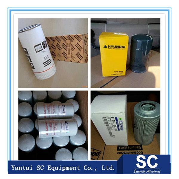 hydraulic filter for DOOSAN loader, excavator