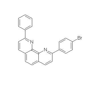 1,10-Phenanthroline, 2-(4-bromophenyl)-9-phenyl-