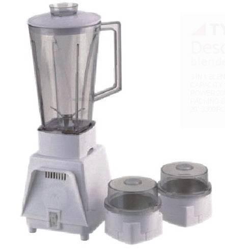 Family 3 in 1 blender with two grinders/ household blender