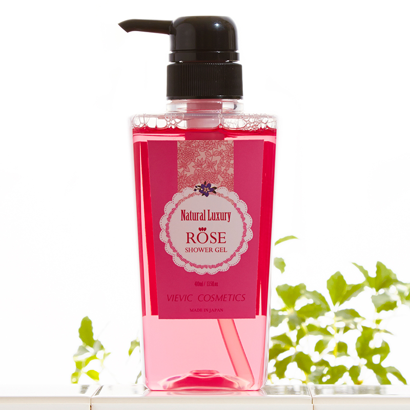 Rose Shower Gel (Luxury Rose Body Soap)