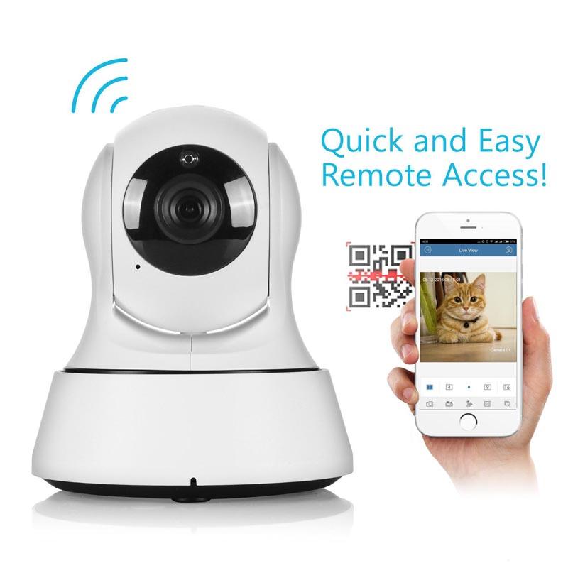 720P IP Camera Wifi Video Baby Monitor