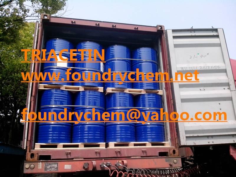 Triacetin , phenolic resin, solvent