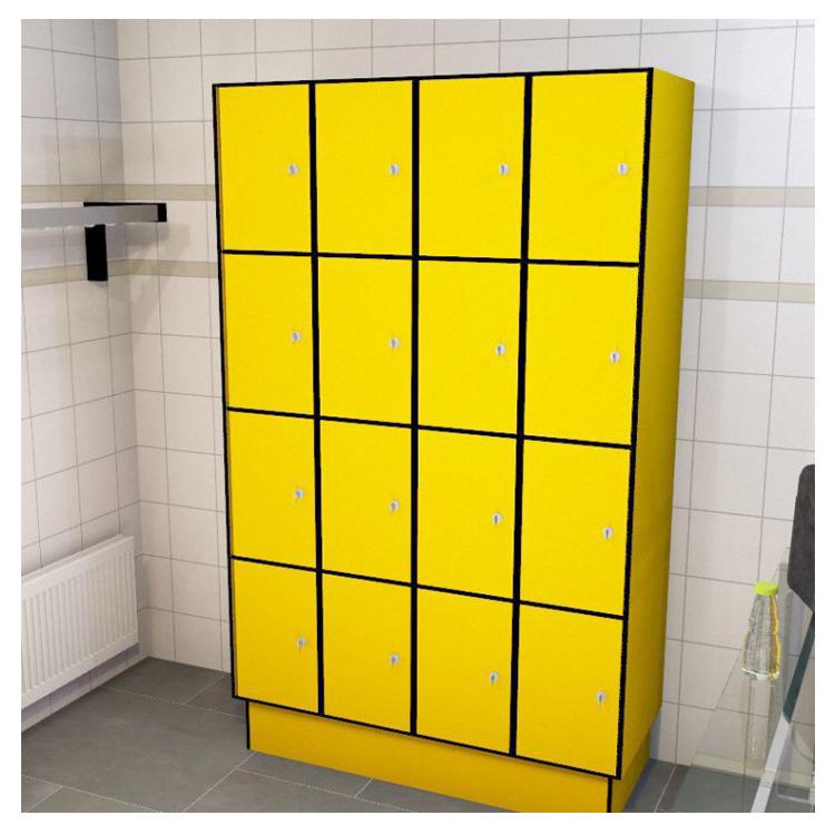 compact laminate waterproof hpl gym club locker