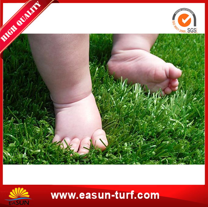 Popular Selling Artificial Grass Mat Fake Turf for Playground-MY