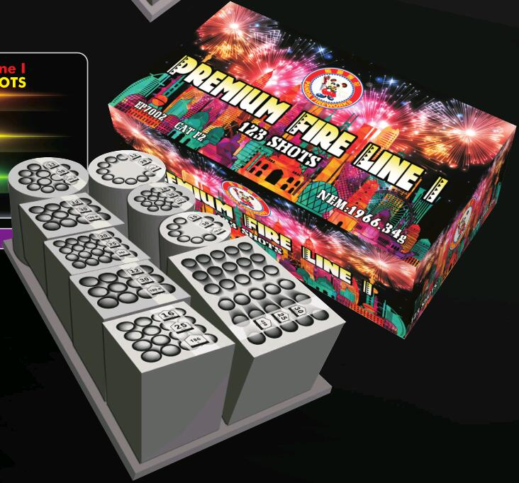 Premium Fire Line I Compound Fireworks