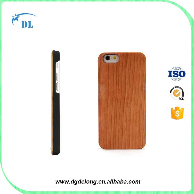 Factory Price Walnut Wood Phone Cover for iphone Cherry Wood Case