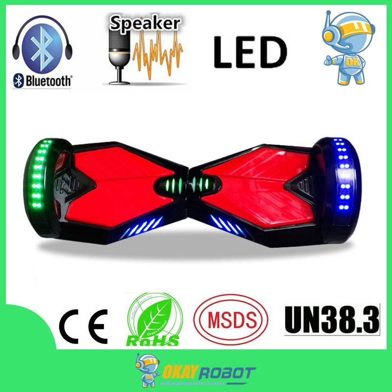 "8"" hoverboard self balance scooter with bluetooth"