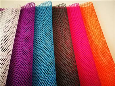 spider perforated big hole mesh fabric