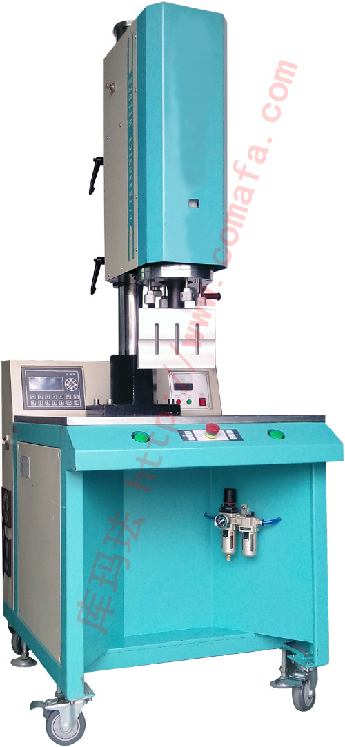 Automobile gear panel plate hot melt point of riveting machine