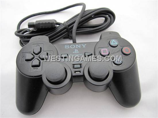 Wired Controller Joystick Joypad M for Sony PS2 (China Original)