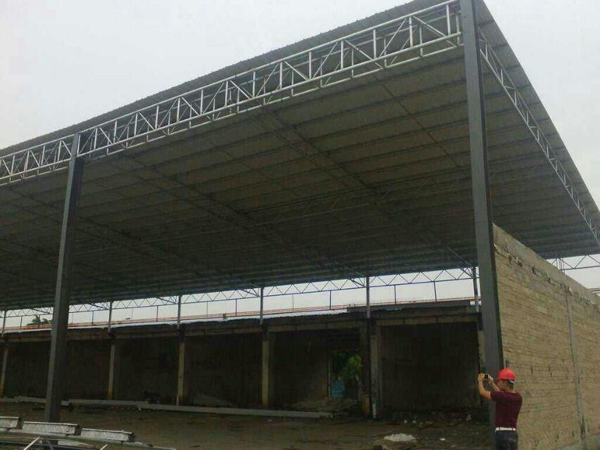 light steel structure warehouse with good quality