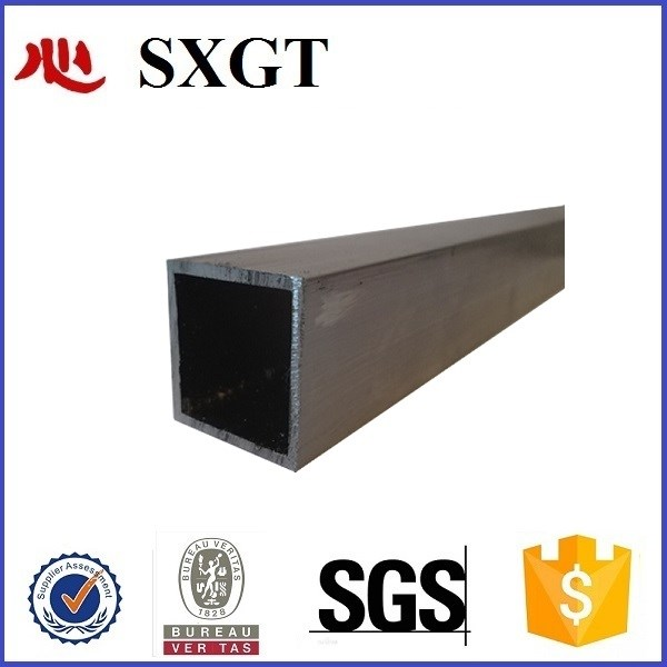 Carbon black steel square tube
