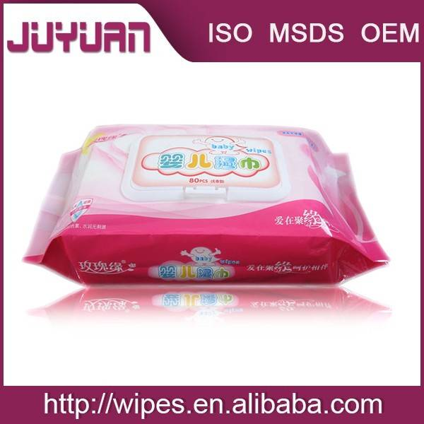 2015 new products Fragrance free or custom-made refreshing manufacturer baby wet wipes, baby wipes,