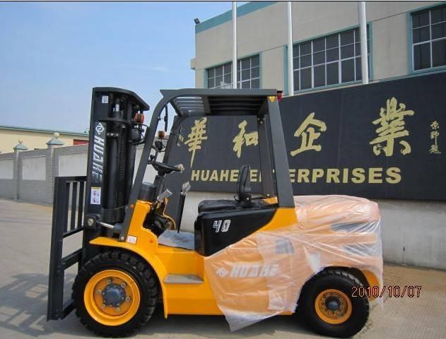 Huahe 4T DIESEL Forklift(HH40Z-N5-D)WITH ENGINE XINGCHANGA 498BPG