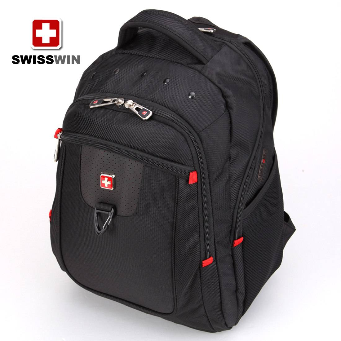 SWISSWIN Army Knife Backpack computer backpack travel backpack business casual backpack male and fem