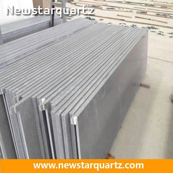 Grey Seamless Engineered Quartz Slab