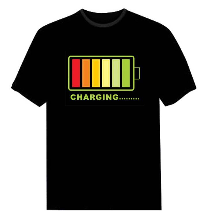 Nocturnal cotton  flash T-shirt
