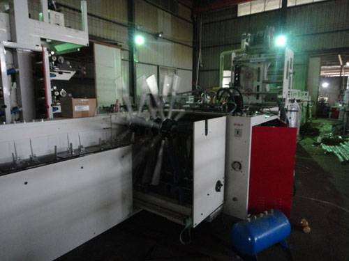 Fully Automatic Wicket Bag Making Machine