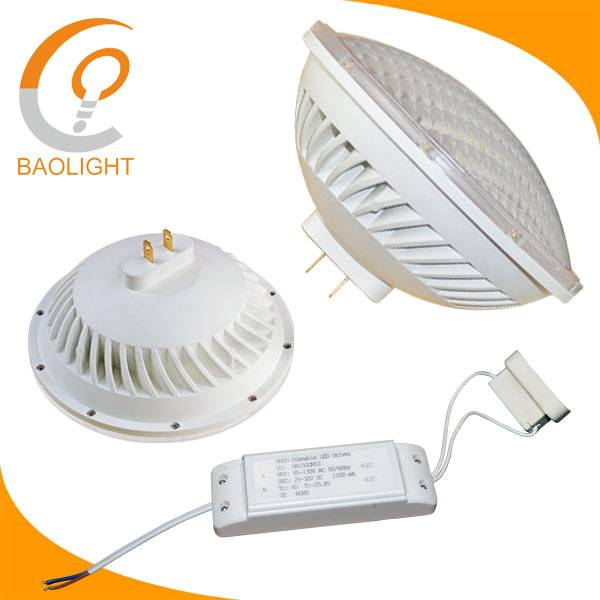 No flicker under camera dimmable par56 led stage light lamp 36w gx16d base 300w par56 par64 replacem