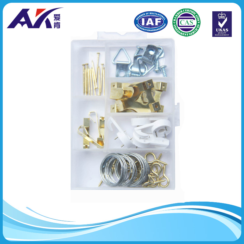 PP Box Packing Picture Hanger Assortment