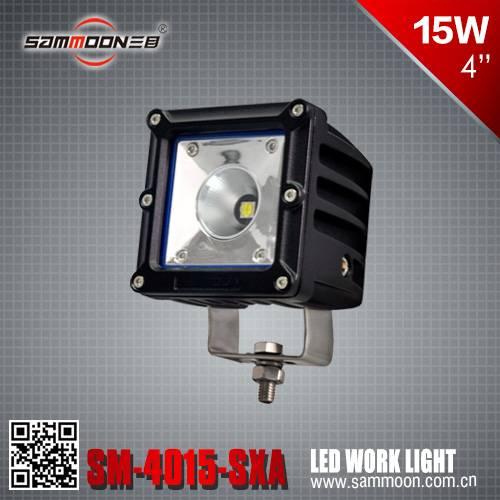 4 inch 15w square cree led work light