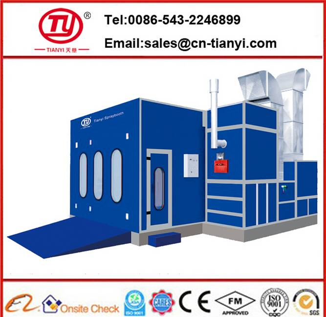 Tianyi CE approved spray booth/car spray booth for sale/spray booth filter