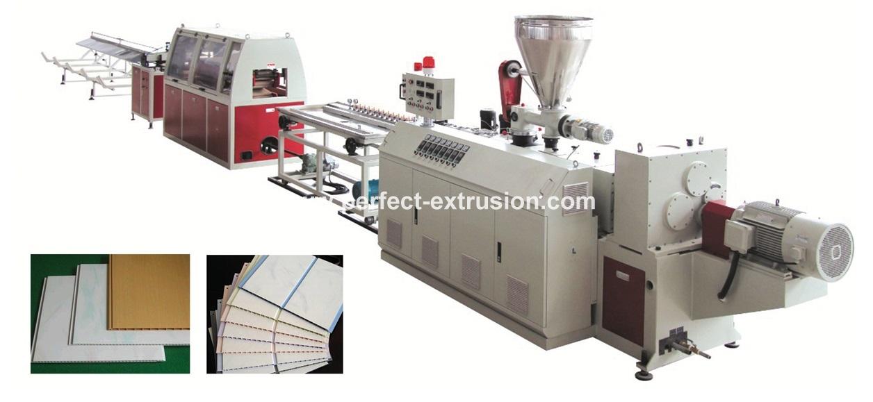 PVC WPC Profile Production Line