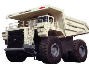 Dump trucks NHL - TEREX