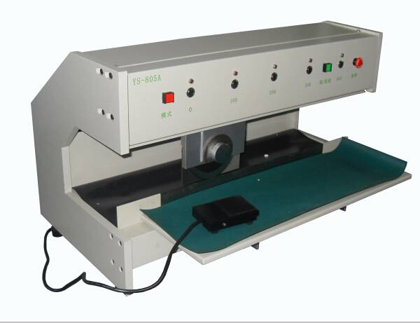 V cut pcb cutting machine, cutting pcb to single units