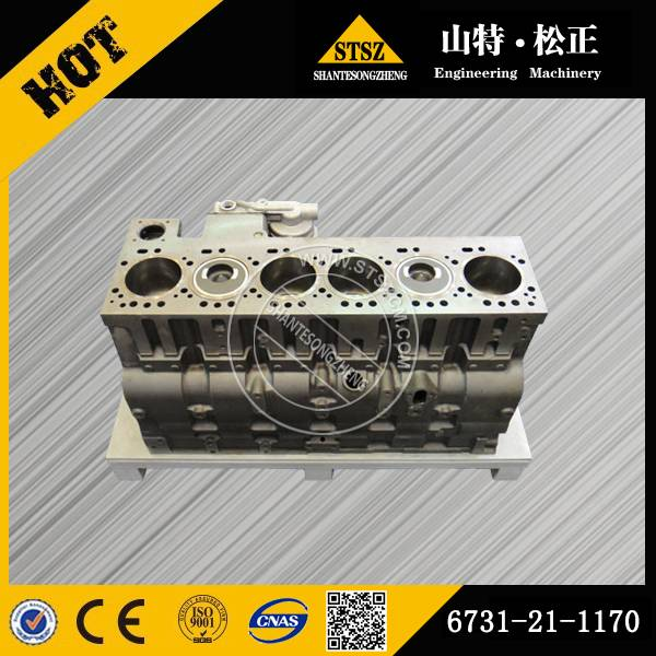 PC400-7 PC450-7 Cylinder Block Ass'y 6154-21-1100