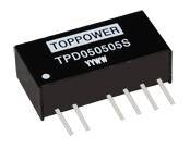 TPD DC/DC Converters Series 1W Isolated Twin Output DC/DC Converters