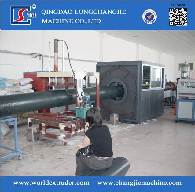 HDPE one/two Step Method polyurethane Heat Preservation Pipe Line 2PE 3PE