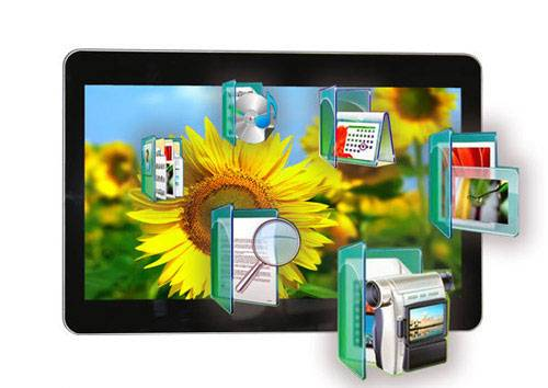 18 inch LCD wall mount Advertising player