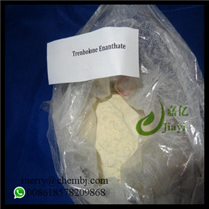Yellow Steroid Powder Trenbolone Enanthate for Bodybuilding