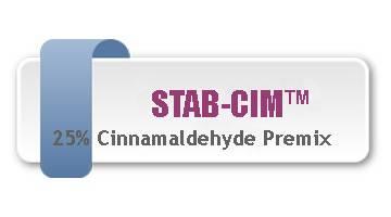Stable Cinnamaldehyde premix feed additive