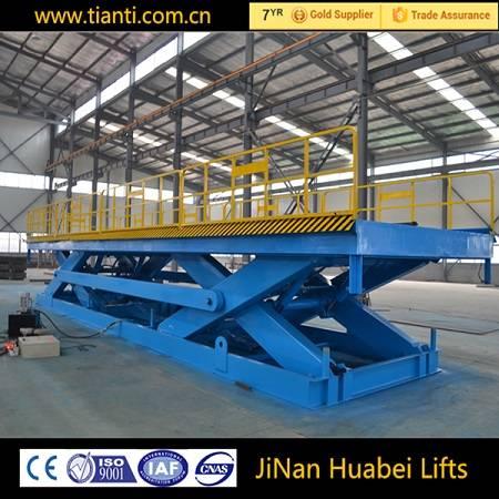 CE hydraulic heavy duty scissor lift table with fixed lift platform