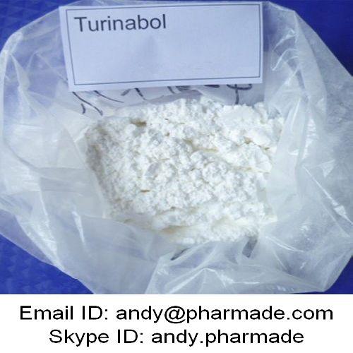 99% USP BP Turinabol Tbol 4-Chlorodehydromethyl Testosterone Powder Bodybuilding