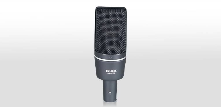 DR.MIC Large Diaphragm Recording Condenser Microphone DR-500B
